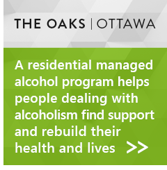 The Oaks, Ottawa: A residential managed alcohol program helps people dealing with alcoholism find support and rebuild their health and lives