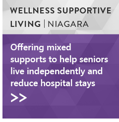 Wellness Supportive Living Program, Niagara Region: Offering mixed supports to help seniors live independently and reduce hospital stays